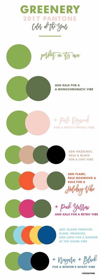 trend paleta culoare verde nunta