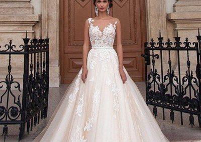 rochie splendida de mireasa nunta cluj