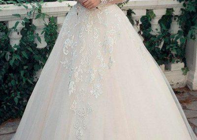 rochie mireasa nunta fara umeri cluj