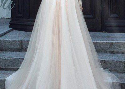 idei rochie lunga de mireasa cluj nunta